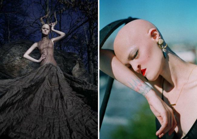11 người mẫu nổi tiếng thế giới vì vẻ ngoài kì lạ chẳng giống ai - Ảnh 21.