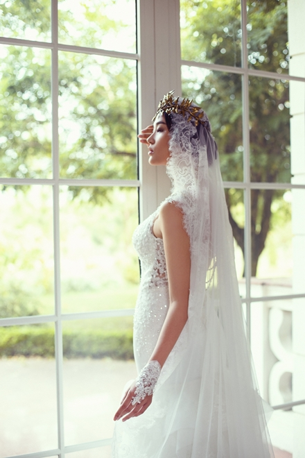 váy cưới ren gợi cảm 1