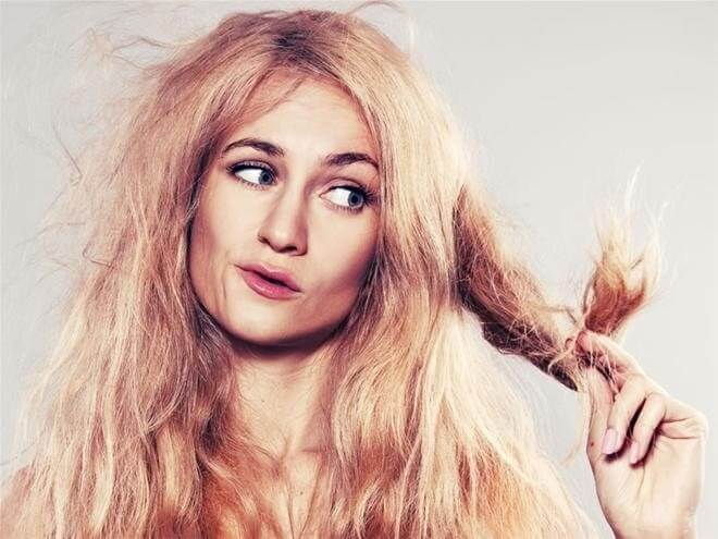 cải thiện tình trạng tóc khô xơ