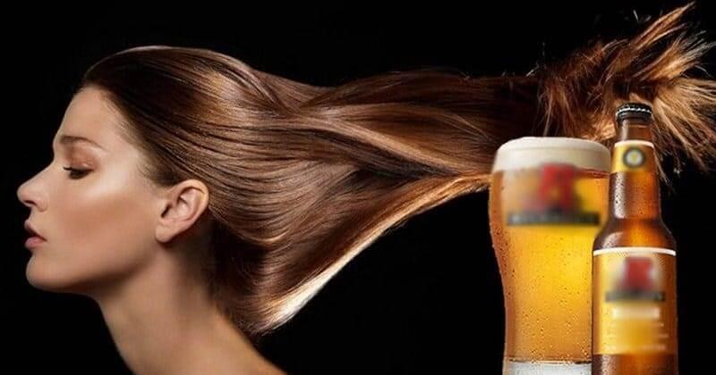 Gội đầu bằng bia giúp tóc nhanh dài