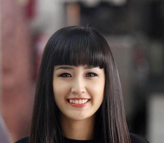 Kiểu tóc mái ngố 2