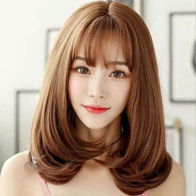 Kiểu tóc mái thưa 5