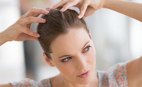 Massage da đầu sẽ rất tốt cho mái tóc
