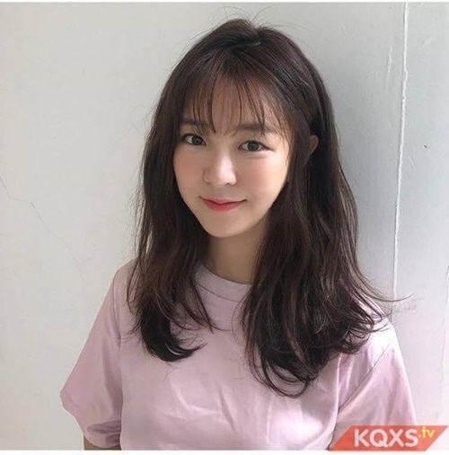 Kiểu tóc mái Hàn Quốc 1
