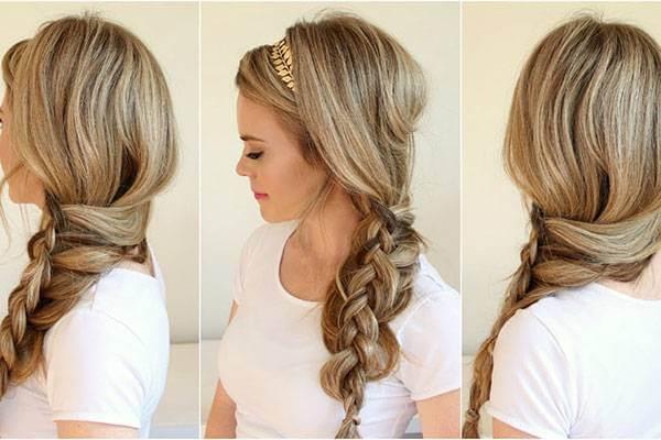 Tết tóc bím không bao giờ lỗi mốt. Dù tóc dài ngang lưng đẹp vẫn tết tóc được