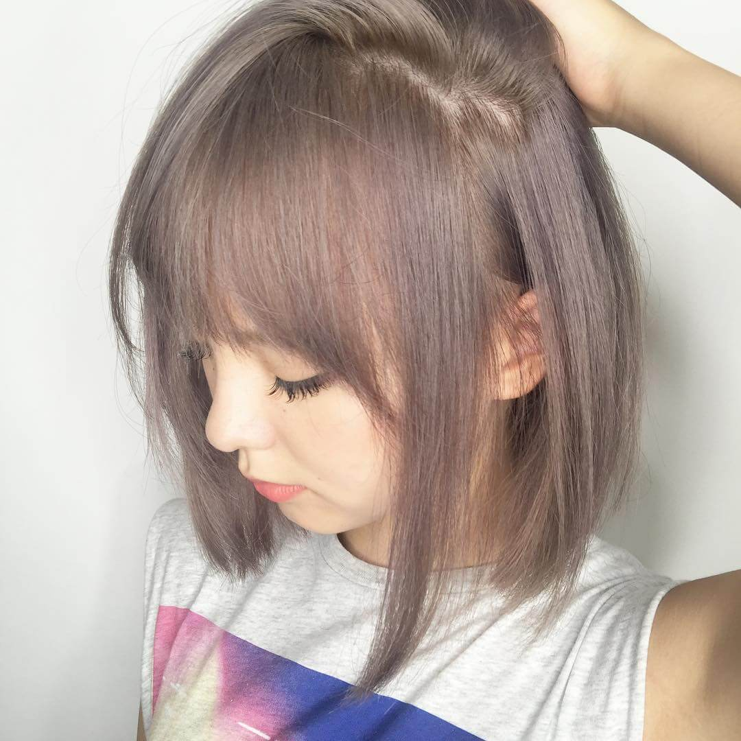 Kiểu tóc nâu khói 4
