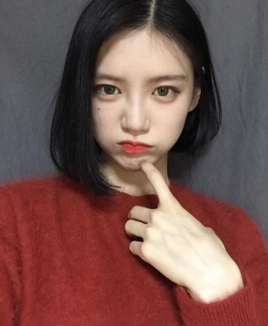 Kiểu tóc uốn cụp đuôi Hàn Quốc 1