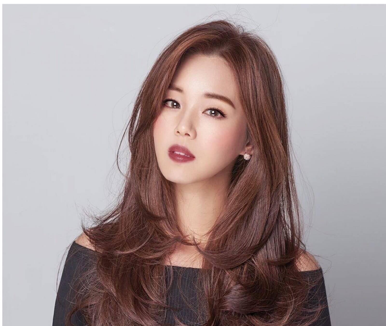 Kiểu tóc dài cúp đuôi Hàn Quốc
