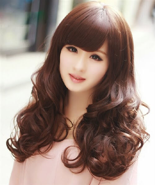Kiểu tóc màu nâu đồng 4