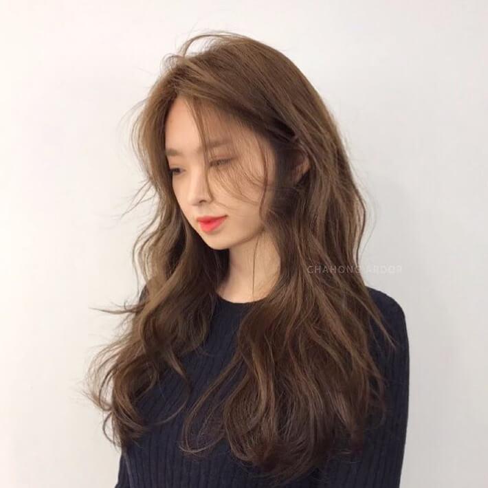 Kiểu tóc xoăn đẹp sóng nước 3
